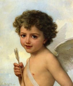 Emile Munier - Cupid (also known as Amou..