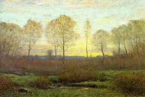 Dwight William Tryon - Dawn - Early Spring