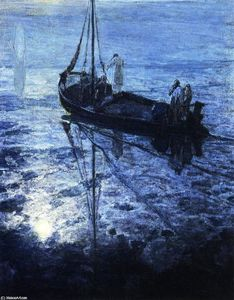 Henry Ossawa Tanner - The Disciples See Christ Walking on the Water
