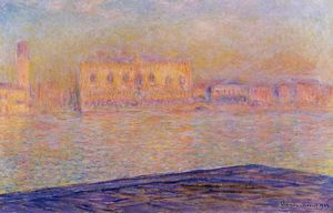 Claude Monet - The Doges- Palace Seen from San Giorgio Maggiore (also known as San Giorgio)