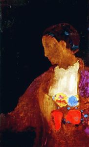 Odilon Redon - The Doge-s Wife