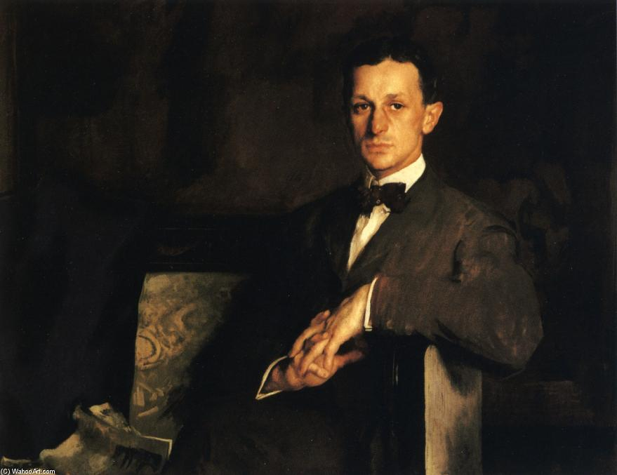 Dr. Harvey Cushing, Oil On Canvas by Edmund Charles Tarbell (1862-1938, United States)