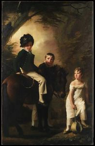 Henry Raeburn - The Drummond Children