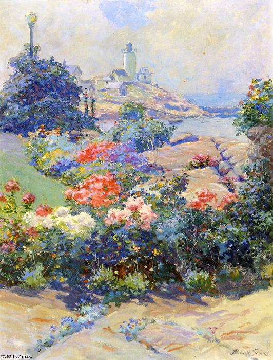 Eastern Point, Gloucester, Painting by Abbott Fuller Graves (1859-1936, United States)