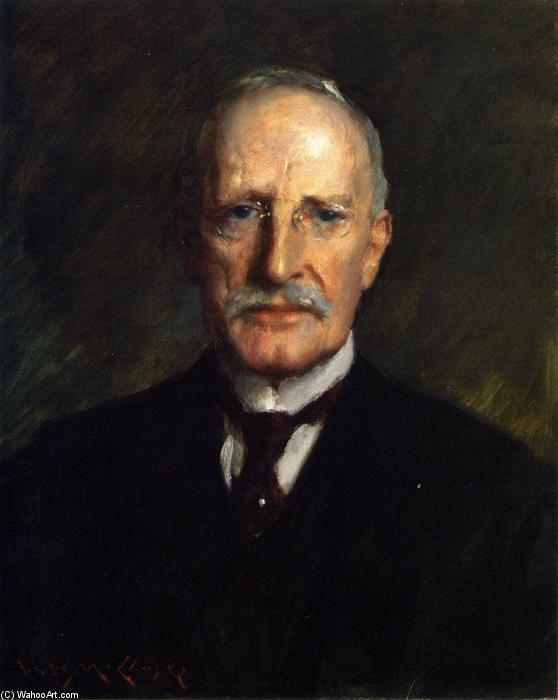 Edward Guthrie Kennery, Oil On Canvas by William Merritt Chase (1849-1916, United States)