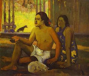 Paul Gauguin - Eilaha Ohipa (also known as Not Working)