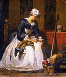 Jean-Baptiste Simeon Chardin - The Embroiderer