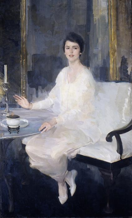 Ernesta, Oil On Canvas by Cecilia Beaux (1855-1942, United States)