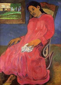 Paul Gauguin - Faaturuma (also known as ..