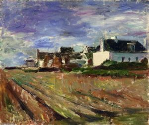 Henri Matisse - Farms in Brittany, Belle Ile