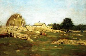 Dwight William Tryon - Farmyard