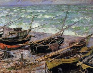 Claude Monet - Fishing Boats