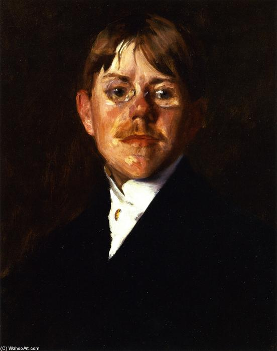 Frank Wadsworth, Oil On Canvas by William Merritt Chase (1849-1916, United States)