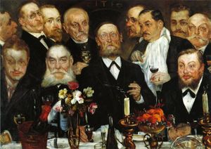 Lovis Corinth (Franz Heinrich Louis) - The Freemason-s (also known as Firm in Loyalty)