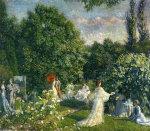 Phillip Leslie Hale - Garden Party