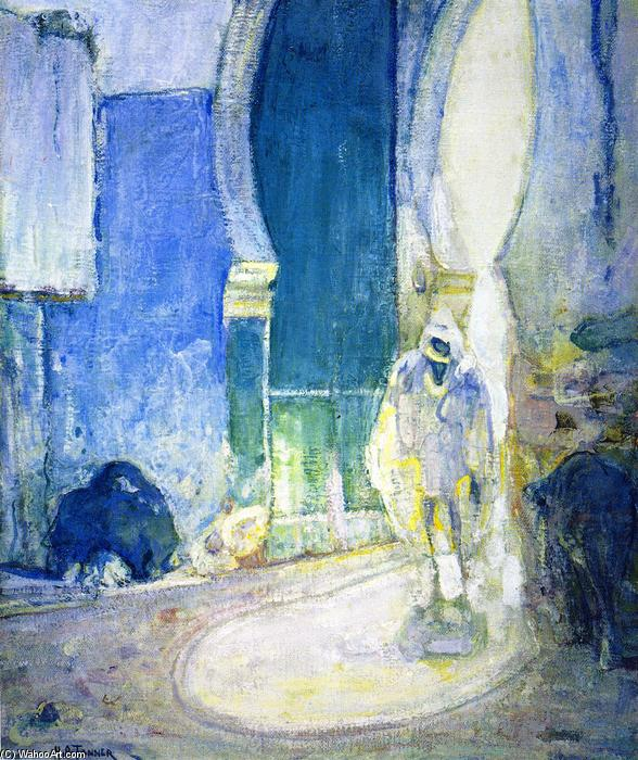 Gate to the Casbah, 1914 by Henry Ossawa Tanner (1859-1937, United States) | Art Reproduction | ArtsDot.com