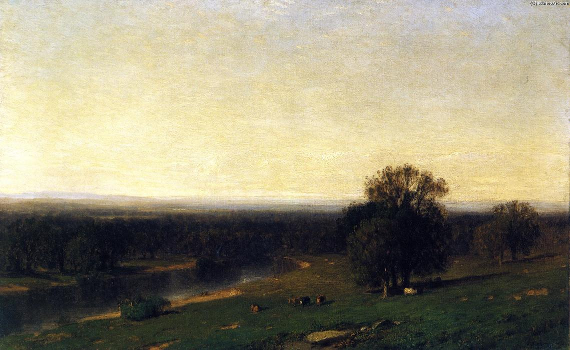 The Genesee Valley, New York, Oil On Canvas by Samuel Colman (1832-1920, United Kingdom)