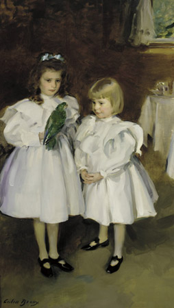Gertrude and Elizabeth Henry, 1898 by Cecilia Beaux (1855-1942, United States) | Art Reproduction | ArtsDot.com
