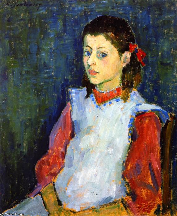Buy Museum Art Reproductions : Girl in White Apron, 1906 by Alexej Georgewitsch Von Jawlensky (1864-1941, Russia) | ArtsDot.com