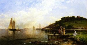 Alfred Thompson Bricher - Going Out in the Yacht