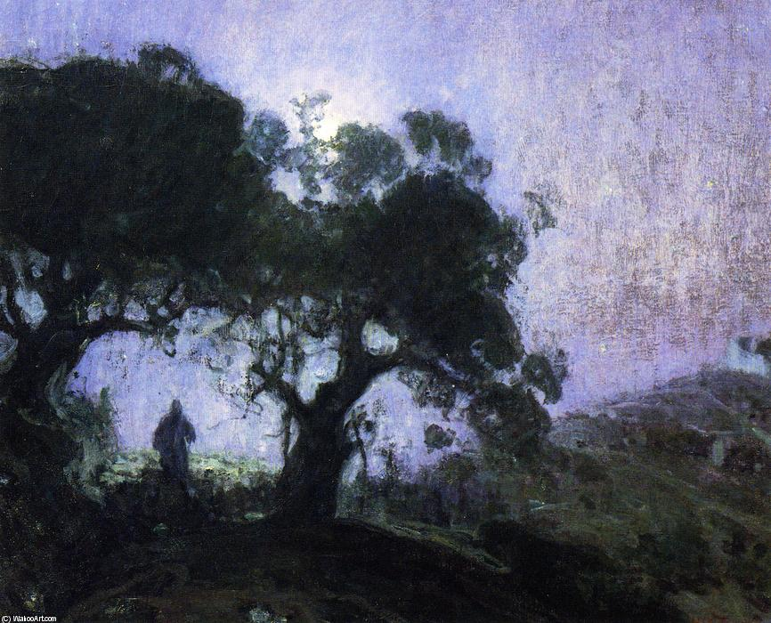 The Good Shepherd, Oil On Canvas by Henry Ossawa Tanner (1859-1937, United States)