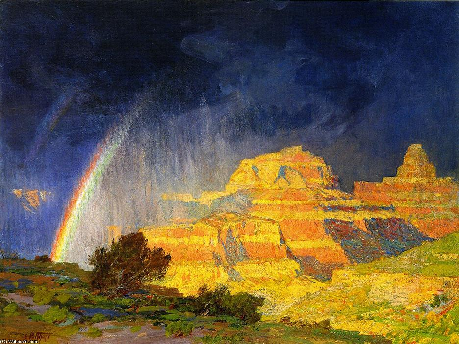 Grand Canyon, 1910 by Edward Henry Potthast (1857-1927, United States) | Reproductions Edward Henry Potthast | ArtsDot.com