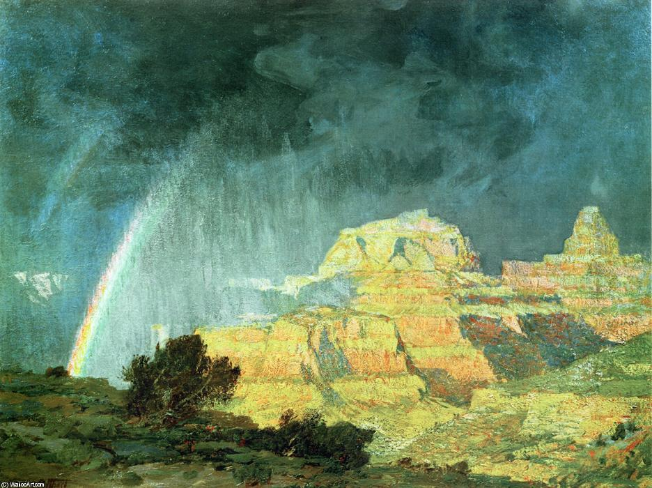 Grand Canyon by Edward Henry Potthast (1857-1927, United States) | Art Reproductions Edward Henry Potthast | ArtsDot.com