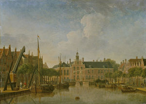 Jan Ten Compe - The Hague, the Bierkade and Gr..
