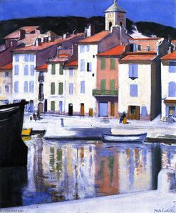 Francis Campbell Boileau .. - The Harbour, Cassis
