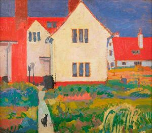 Spencer Frederick Gore - Harold Gilman's House at ..