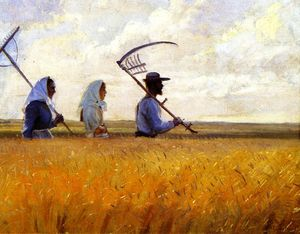 Anna Kirstine Ancher - Harvest Time