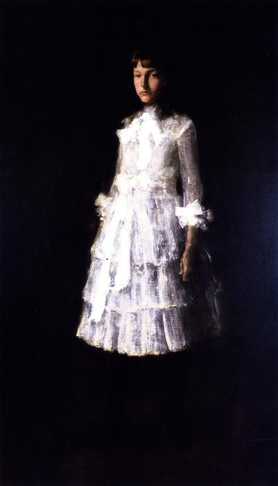 Hattie (also known as Portrait of My Sister), Oil On Canvas by William Merritt Chase (1849-1916, United States)