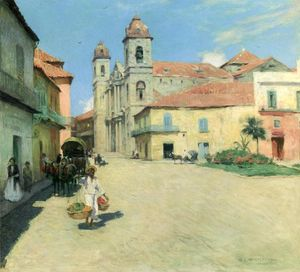 Willard Leroy Metcalf - Havana Cathedral