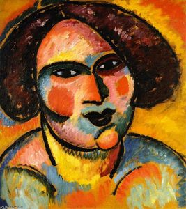 Alexej Georgewitsch Von Jawlensky - Head of a Woman