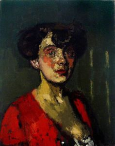 Walter Richard Sickert - Head of a Woman (also known as The Belgian Cocotte)