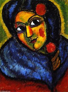 Alexej Georgewitsch Von Jawlensky - Head of a Woman - Ballerina