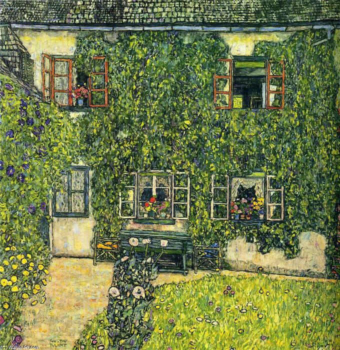 The House of Guardaboschi, 1912 by Gustav Klimt (1862-1918, Austria) | Museum Quality Reproductions | ArtsDot.com