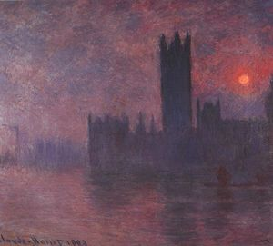 Claude Monet - Houses of Parliament