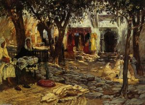 Frederick Arthur Bridgman - Idle Moments: An Arab Cou..