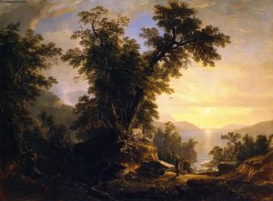 Asher Brown Durand - The Indian's Vespers