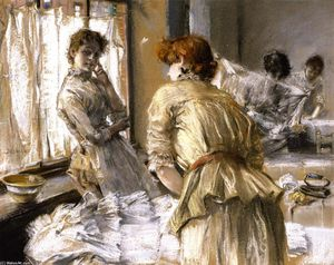 Robert Frederick Blum - In the Laundry