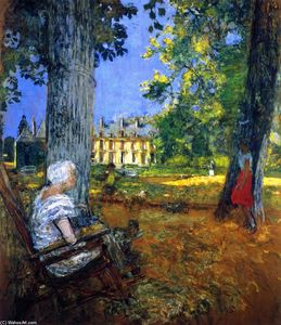 Jean Edouard Vuillard - In the Park at the Château des Clayes