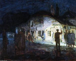 Henry Ossawa Tanner - Intersection of Roads, Neufchateau, World War I