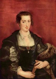 Peter Paul Rubens - Isabella Brandt, first wife