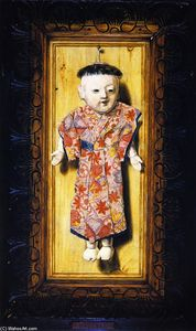 John Haberle - The Japanese Doll