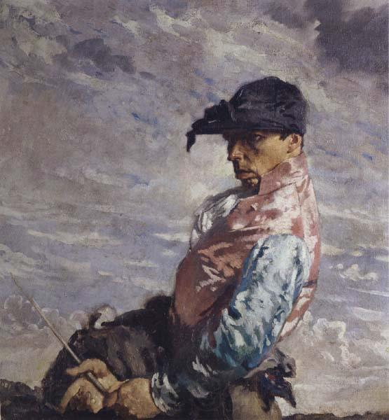 The Jockey by William Newenham Montague Orpen (1878-1931, Ireland)