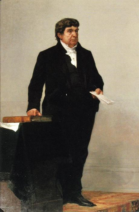 Justice Lemuel Shaw by William Morris Hunt (1824-1879, United States) | Museum Quality Reproductions | ArtsDot.com