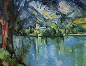 Paul Cezanne - The Lac d-Annecy