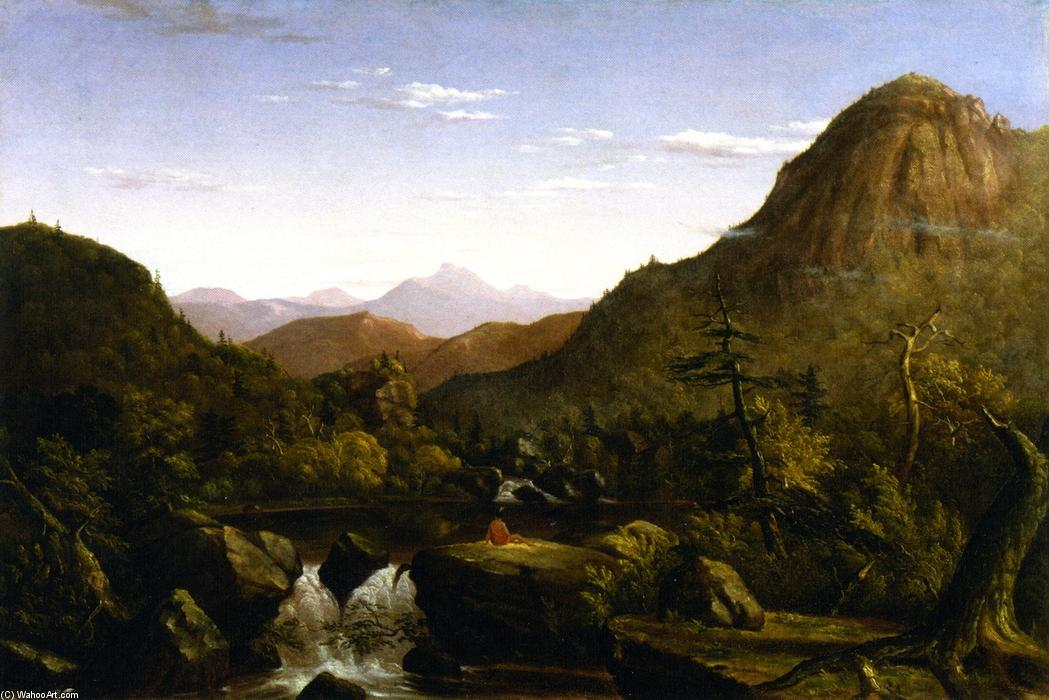 Landscape, 1849 by Christopher Pearse Cranch (1813-1892, United States) | Museum Quality Copies Christopher Pearse Cranch | ArtsDot.com