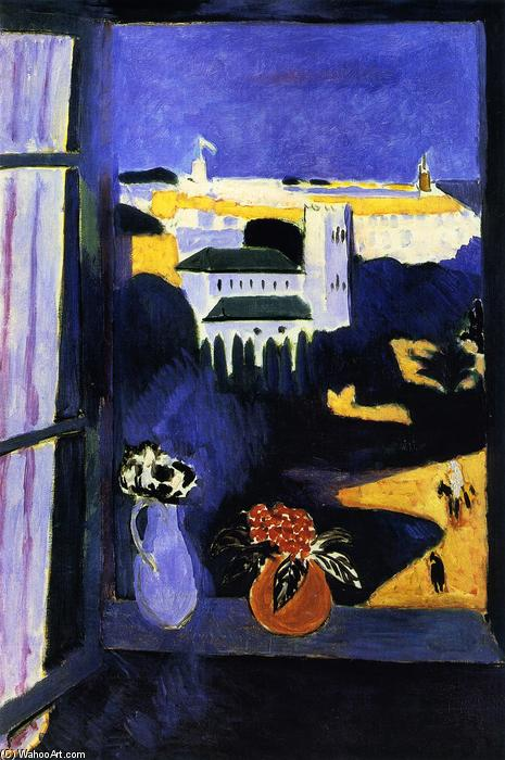 Landscape viewed from a Window, 1913 by Henri Matisse (1869-1954, France) | Art Reproduction | ArtsDot.com